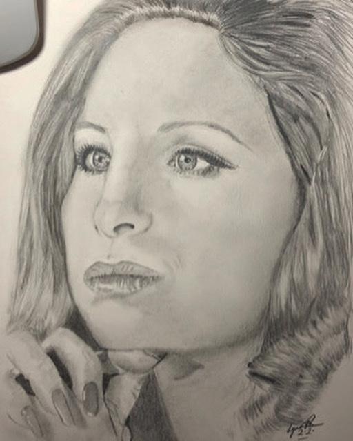 Barbra Streisand por AllArtUK